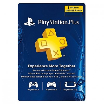 PlayStation Plus - PS3/ PS4/ PS Vita [Código Digital]