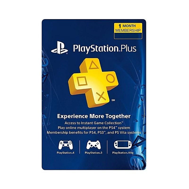 PlayStation Plus - PS3/ PS4/ PS Vita [Código Digital]