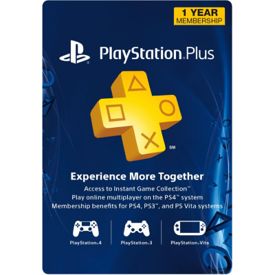 12 Meses - PlayStation Plus...
