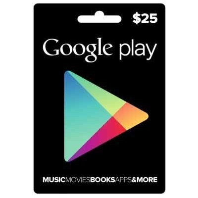 Google Play $10 $15 $25 $50 $100 Gift Card - Envios al E-mail o Whatsapp