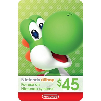 eCash - Nintendo eShop Gift Card - Switch / Wii U / 3DS - $5 ~ $70 - Envió al E-mail o Whatsapp