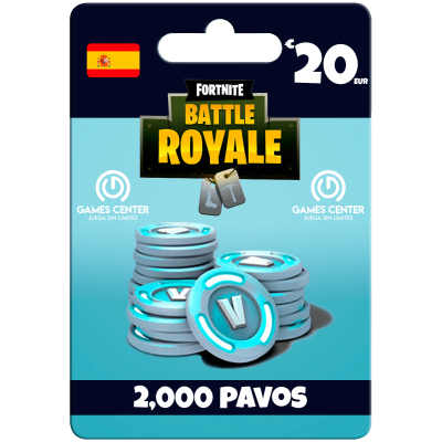 Fortnite: 2.000 paVos – ESPAÑA– PS4