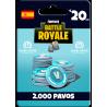 Fortnite: 2.000 paVos – ESPAÑA– PS4