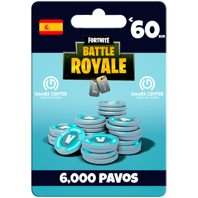 Fortnite: 6.000 paVos (+1500 bonus) – ESPAÑA – PS4