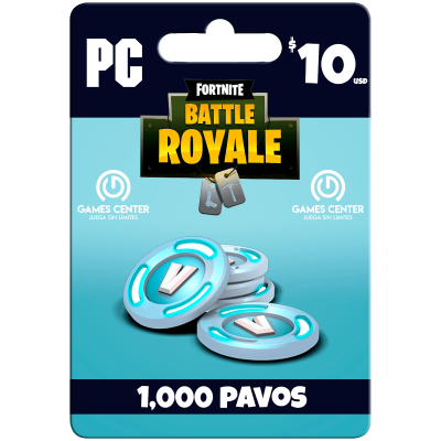 Fortnite: 1.000 paVos – PC...