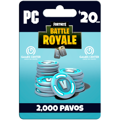 Fortnite: 2.000 paVos – PC...