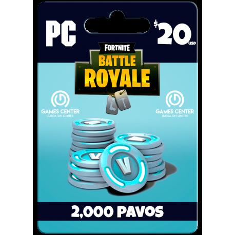 Fortnite: 2.000 paVos – PC [In-Game]