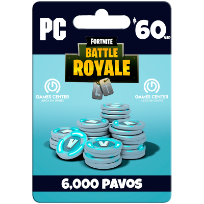 Fortnite: 6.000 paVos...