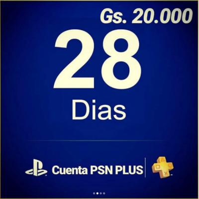Cuenta PSN Plus
