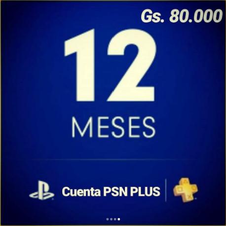 PSN Cuenta Plus