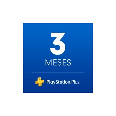 PSN Plus : Suscripción de 3 Mes [In-Account]