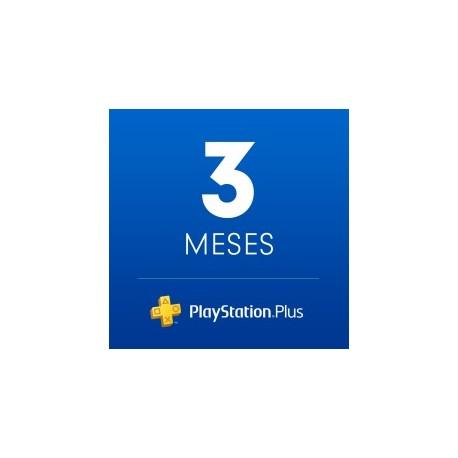 PSN Plus : Suscripción de 3 Mes [In-Account]