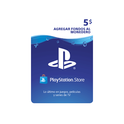 PlayStation Store Gift Card $5 - PS3/ PS4/ PS Vita [In-Account]