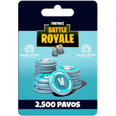 Fortnite: 2.500 paVos (+300...