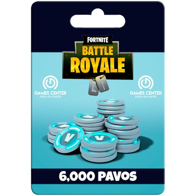 Fortnite: 6.000 paVos (+1500 bonus) – PS [In-PSN]