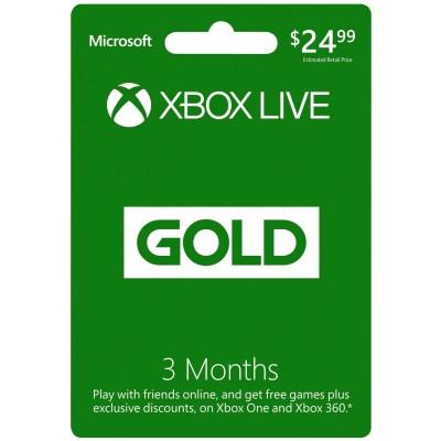 Xbox Live Gold Membership (EEUU)