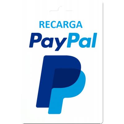 Recarga Saldo PayPal (EEUU)