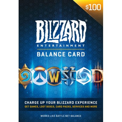 Battle.net Store Gift Card Balance - Blizzard Entertainment