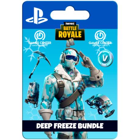Deep Freeze Bundle : Fortnite Battle Royale – PS4 [In-PSN]