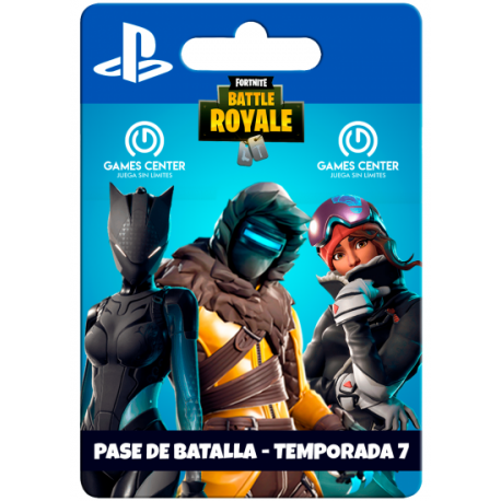 Pase de batalla : Fortnite Battle Royale – (Temporada) – PS4 [In-PSN]