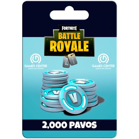 Fortnite: 2.000 paVos – PS4 [In-PSN]