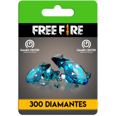 Free Fire: 300 Diamantes...