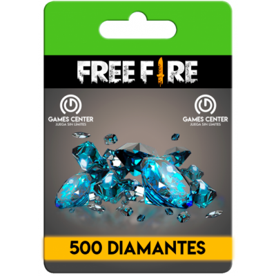 Free Fire: 500 Diamantes...