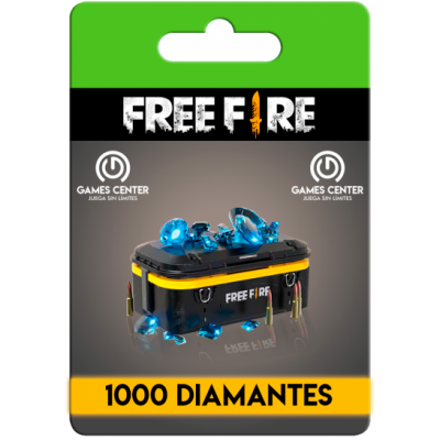 Free Fire: 1000 Diamantes...