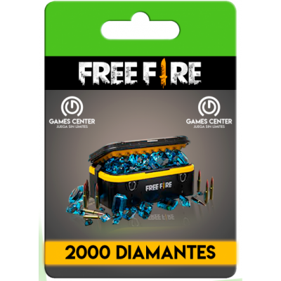 Free Fire: 2000 Diamantes...
