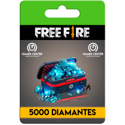 Free Fire: 5000 Diamantes...