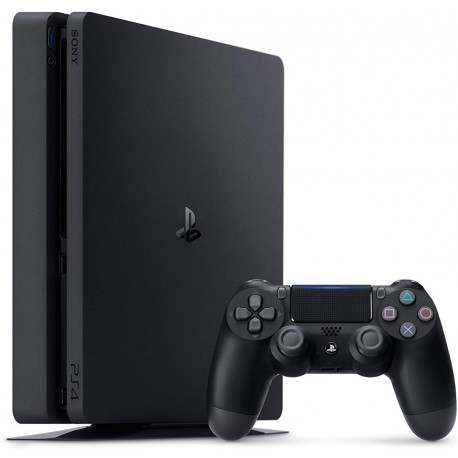 Consola Playstation 4 : 500GB - Negro
