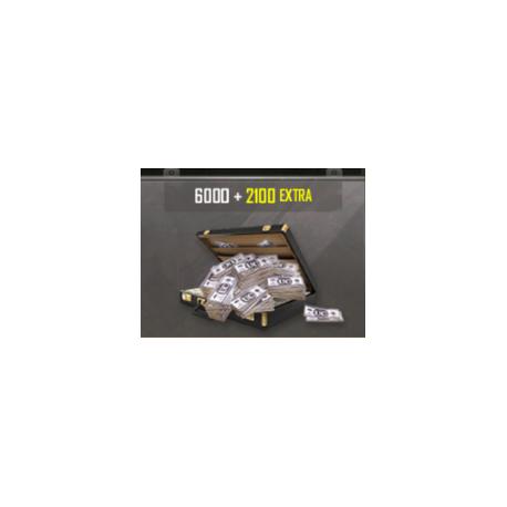Pubg Mobile: 6000 Money + 2100 extra - (RECARGA)