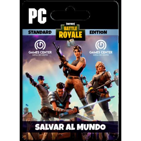 Salvar el Mundo – Standard Founder's Pack : Fortnite Battle Royale – PC [In-Game]