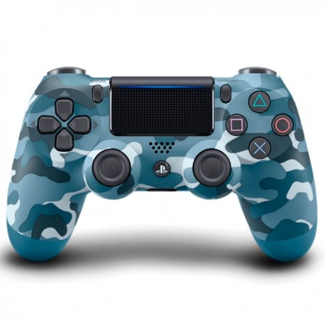 Control PS4 / PS3 : Dualshock 4 V2 Camu Azul