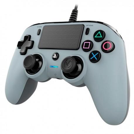 Control PS4 / PS3 : Nacon Compact - Plateado