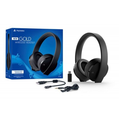 Headset PS4: New Gold -...